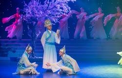 学者特性和歌曲押韵中国民间舞 免版税库存图片