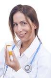 医学采取您 免版税库存图片