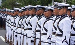 学院军校学生军事菲律宾 免版税库存图片