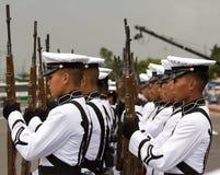 学院军校学生军事菲律宾 免版税库存照片