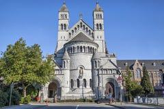 学院圣米歇尔教会在布鲁塞尔 库存图片