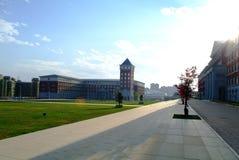 学院大厦 免版税库存图片