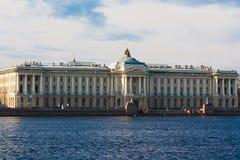学院艺术,圣彼德堡,俄罗斯大厦  图库摄影