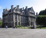 学院都伯林爱尔兰三位一体 免版税图库摄影