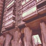 学院结构苏联里加的科学 免版税图库摄影