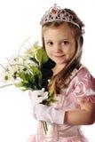 学龄前俏丽的公主 图库摄影