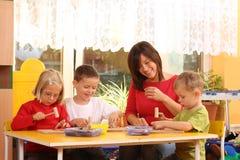 学龄前儿童 免版税库存照片