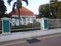 医学系, Airlangga大学,印度尼西亚 免版税库存图片