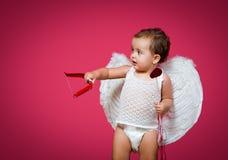 婴孩丘比特 免版税库存照片