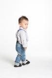 婴孩中国逗人喜爱 库存图片