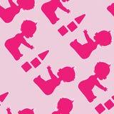 婴孩二 免版税图库摄影