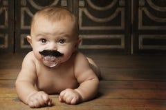 婴孩使用 免版税库存图片