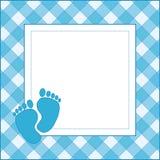 婴孩卡片 免版税库存照片