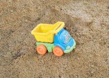 婴孩卡车玩具 免版税库存图片