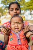 婴孩印地安人 免版税库存图片