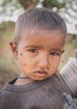 婴孩印地安人 免版税库存照片