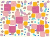 婴孩变形虫细胞 向量例证