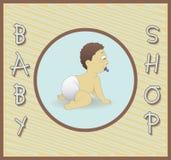 婴孩商店 库存图片