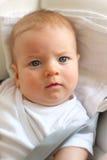 婴孩四个月 免版税图库摄影