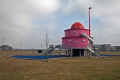 孩子一个托儿所在Almere,荷兰 库存图片