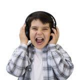 孩子听的音乐 免版税库存照片