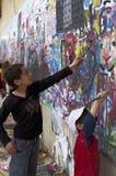 孩子和艺术 免版税库存图片