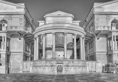 孩子和青年创造性,地标宫殿在塞瓦斯托波尔, 免版税库存图片