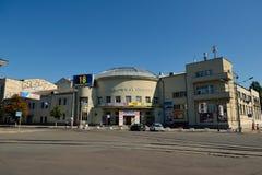 孩子和青年时期的基辅市政学术歌剧和芭蕾舞团 免版税库存照片