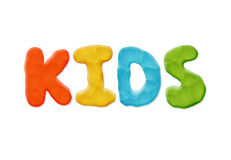 孩子商标模板 免版税库存图片