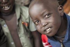 孩子在南苏丹 免版税库存照片