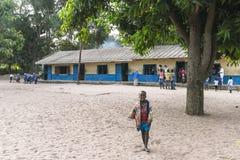 孩子在学校 图库摄影
