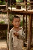 孩子在泰国 免版税库存图片