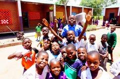 孩子在马拉维,非洲 免版税图库摄影