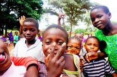 孩子在马拉维,非洲 免版税库存图片