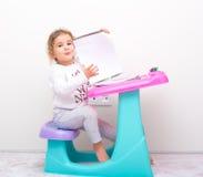 孩子学习 免版税库存照片