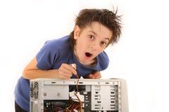 孩子年轻人 免版税库存照片