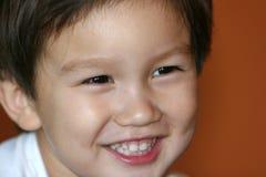孩子微笑 免版税库存照片