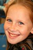 孩子微笑 免版税图库摄影