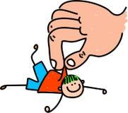 孩子抢救 免版税库存图片