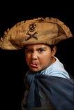 孩子海盗 库存照片
