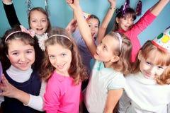 孩子生日聚会 免版税库存图片