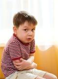 孩子病残 免版税图库摄影