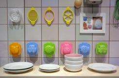 孩子的一厨房玩具playset 免版税图库摄影