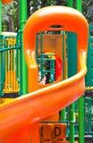 孩子的五颜六色的操场。 免版税库存图片