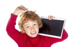 孩子的屏幕时间 库存图片