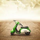 孩子的微型马达自行车 免版税库存图片