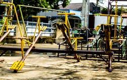 孩子的摇椅 免版税库存图片
