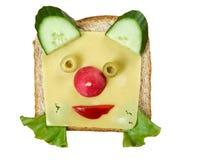 孩子的早餐 免版税库存图片