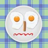 孩子的早餐 免版税库存照片