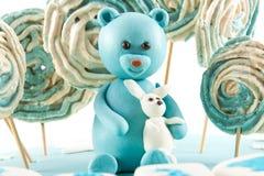 孩子的生日蛋糕乳香树脂 图库摄影